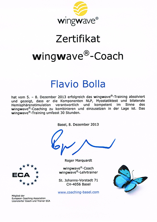 Wingwave Kurzeitcoaching in Wil.